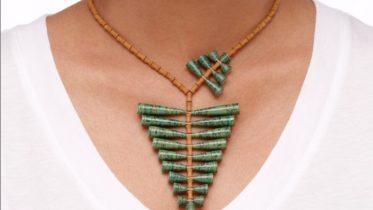 Lindas e sustentáveis: conheça as joias feitas de papel