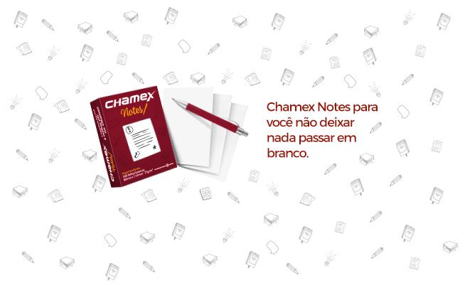 Chamex Notes: Mais uma opção de papel para você fazer as suas anotações