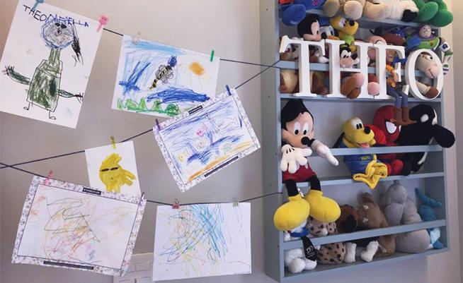 Ideias criativas para guardar os desenhos das crianças