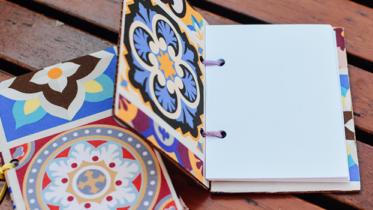 Crie e encaderne seu próprio caderninho em poucos passos!