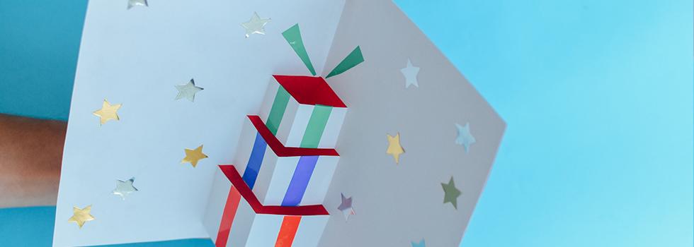 Faça um cartão de Natal pop-up e surpreenda no fim de ano!