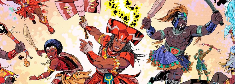 A história dos Orixás é retratada em projeto de quadrinhos