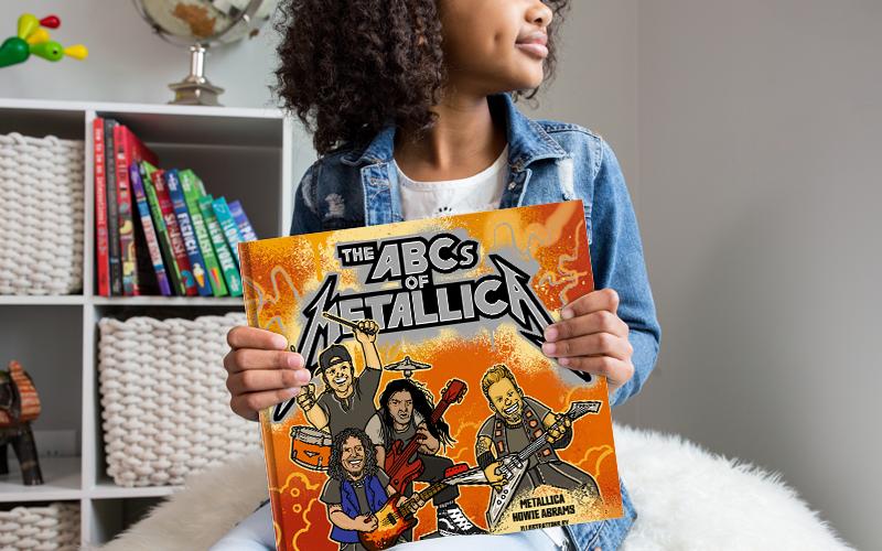 Hoje é dia de rock, bebê! Banda Metallica lança livro infantil.