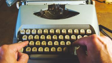 Máquinas de escrever