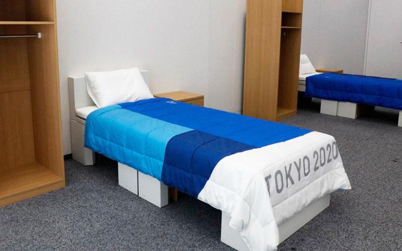 Olimpíadas sustentáveis: atletas dormirão em camas feitas com papelão