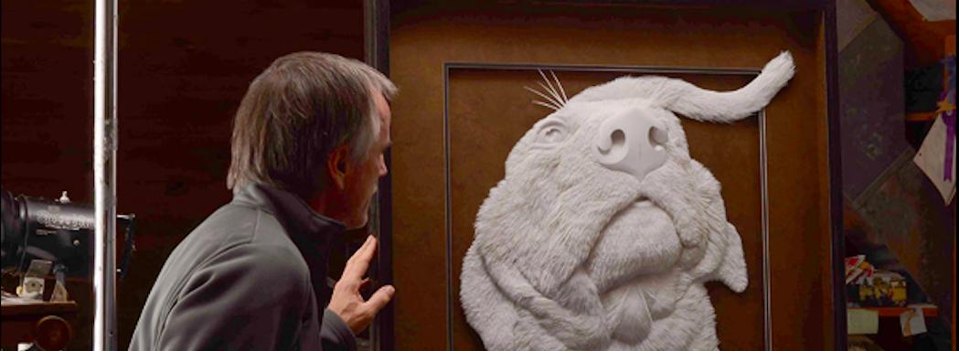 Não é mármore! Artista cria lindas esculturas e quadros utilizando apenas papel