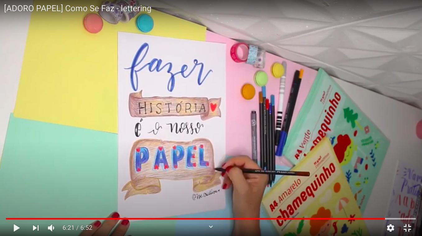 Como Se Faz: Aprenda a fazer lettering
