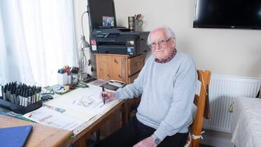 O poder do papel: cartunista que teve derrame criou desenhos para ajudar sua recuperação