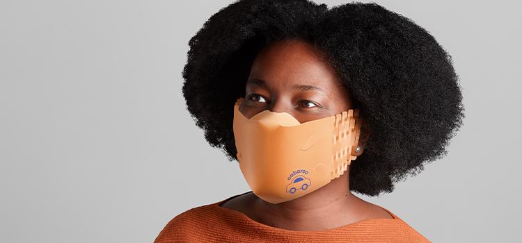Saúde e sustentabilidade: conheça a máscara reciclável feita de papel